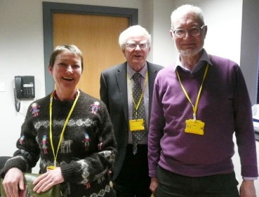 Gillian Gloyer, Willis Pickard and Dr Nigel Dower
